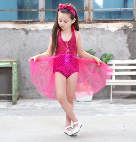 Meerjungfrauen Badeanzug für Kinder