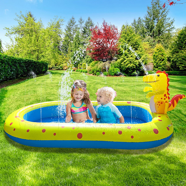 Aufblasbare Sprinkler Swimming Pool 3 in 1