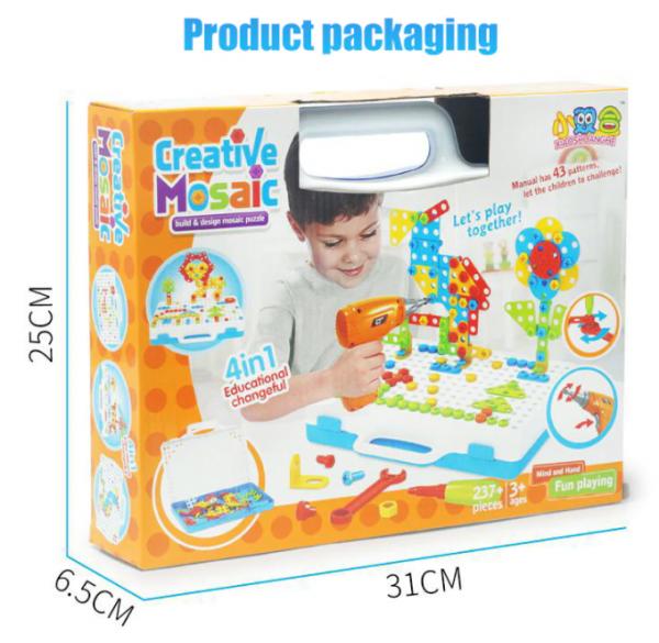 Kreative Mosaik Puzzle Spielzeug Für Kinder